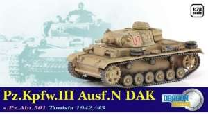 Dragon Armor 60601 Pz.Kpfw.III Ausf.N DAK s.Pz.Abt.501 Tunisia 1942/43