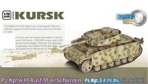 Dragon Armor 60613 Czołg Pz.Kpfw.III M Kursk gotowy model