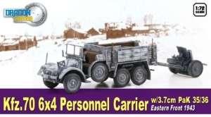 Dragon Armor 60638 Ciężarówka Kfz.70 z działem PaK 35/36