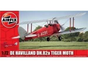 Dwupłatowiec De Havilland DH.82a Tiger Moth Airfix 01024