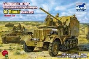 Działo samobieżne Sd.Kfz.6 (5t) Diana Bronco 35038