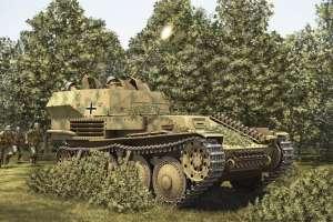 Dziłko przeciwlotnicze 20mm Flak 38 na podwoziu PzKpfw.38t Hobby Boss 80140