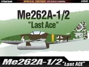 Fighter Messerschmitt Me262A-1/2 - Academy 12542