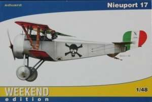 Fighter Nieuport 17 model Eduard 8432