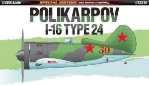 Fighter Polikarpov I-16 - Academy 12314