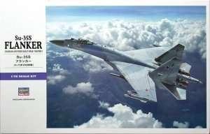Fighter Su-35S Flanker - model Hasegawa E44