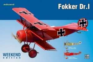 Fighter WWI Fokker Dr.1 - Eduard 8492