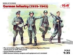 Figures German Infantry 1939-1942 ICM 35639