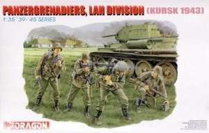 Figurki Panzergrenadiers, LAH Division model Dragon 6159