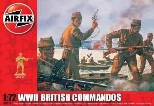 Figurki brytyjskich komandosów Airfix 01732