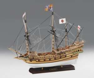Galeon Revenge 1577 - Amati 1300/08 - drewniany model w skali 1:64