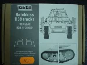 Gąsienice do czołgu Hotchkiss H39 Hobby Boss 81003