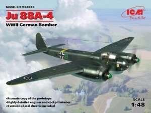 German Bomber Junkers Ju88A-4