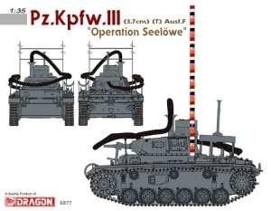 German tank Pz.Kpfw.III Ausf.F (3,7cm) (T) Dragon 6877