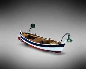 Gozzo da pesca - Mamoli MM70 - drewniany model w skali 1-28