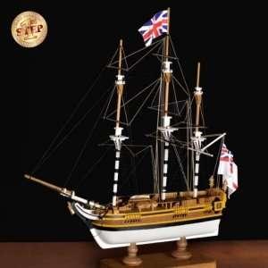 HMS Bounty - Amati 600/04 - drewniany model w skali 1:135