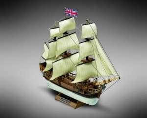 HMS Bounty - Mamoli MM01 - drewniany model skala 1-135