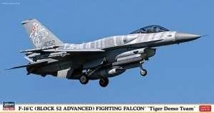 Hasegawa 07452 F-16C -Block 52 Advanced- Fighting Flacon