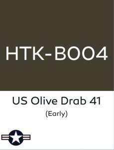 Hataka B004 Olive drab 41 early - farba akrylowa 10ml
