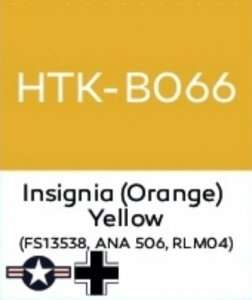 Hataka B066 Insignia (Orange) Yellow - farba akrylowa 10ml