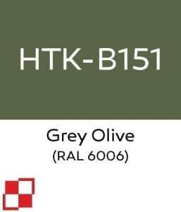 Hataka B151 Grey Olive - farba akrylowa 10ml