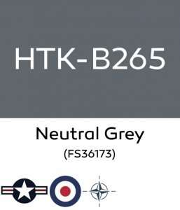 Hataka B265 Neutral Grey - farba akrylowa 10ml