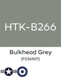 Hataka B266 Bulkhead grey - farba akrylowa 10ml