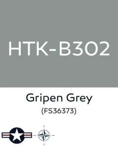 Hataka B302 Gripen grey - farba akrylowa 10ml