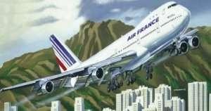 Heller 80459 Samolot Boeing 747
