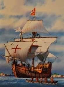Heller 80865 Santa Maria - statek z wyprawy Kolumba