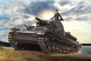 Hobby Boss 80132 Czołg Panzerkampfwagen IV Asuf D Tauchpanzer