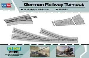 Hobby Boss 82909 Niemieckie tory kolejowe zwrotnica z nasypem