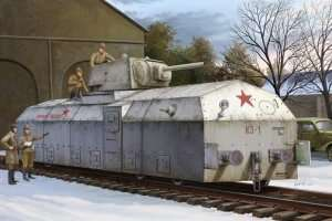 Hobby Boss 82912 Pancerny wagon Krasnaja Zvezda
