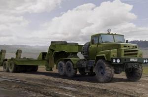 Hobby Boss 85523 Ciężarówka KrAZ-260B z naczepą MAZ/ChMZAP-5247G