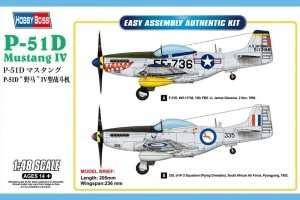 Hobby Boss 85806 P-51D Mustang IV