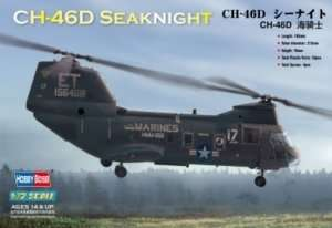 Hobby Boss 87213 Helikopter CH-46D Sea knight