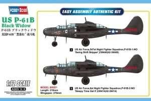 Hobby Boss 87262 Nocny myśliwiec US P-61B Black Widow