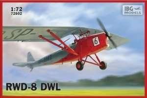 IBG 72502 Polski samolot RWD-8 DWL