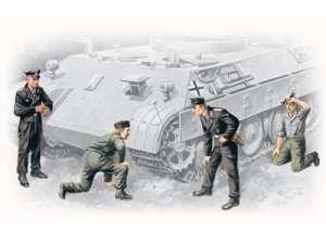 ICM 35211 German Tank Crew (1943-1945)