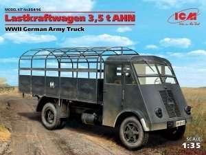 ICM 35416 Samochów Lastkraftwagen 3,5t AHN Renault
