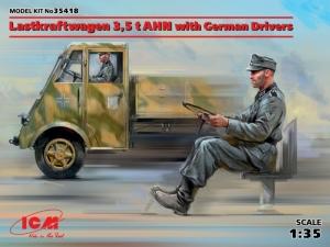 ICM 35418 Ciężarówka Lastkraftwagen 3,5 t AHN z kierowcą