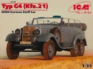 ICM 35538 Typ G4 (Kfz.21) WWII German Staff Car