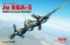 ICM 48232 Ju 88A-5 WWII German Bomber