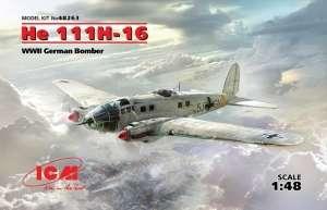 ICM 48263 Bombowiec He 111H-16