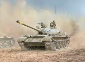 Iracki czołg T-55 w skali 1-35 Italeri 6540
