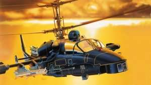 Italeri 0005 Helikopter Kamov KA-52 Alligator