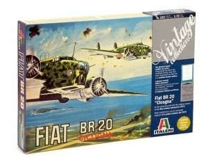 Italeri 0103 Fiat BR.20 Cicogna