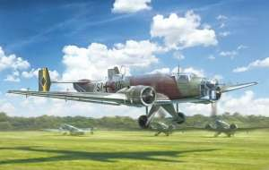 Italeri 1391 Junkers Ju-86 E-1/E-2 model samolotu