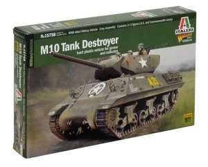 Italeri 15758 M10 Tank Destroyer