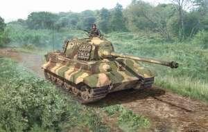Italeri 15765 Czołg ciężki Sd.Kfz.182 Tiger II skala 1-56 Warlord Games